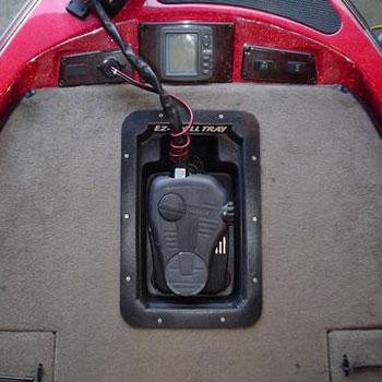 EZ Troll Fishing Boat Motor Tray