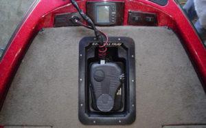 Recessed Trolling Motor Trays