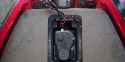 Recessed Trolling Motor Trays