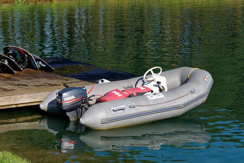 small outboard motor features
