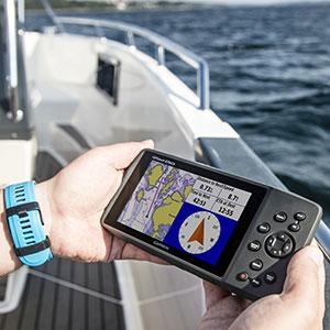 marine GPS chartplotter