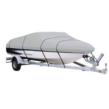 AmazonBasics Boat Cover for V-Hull Runabouts