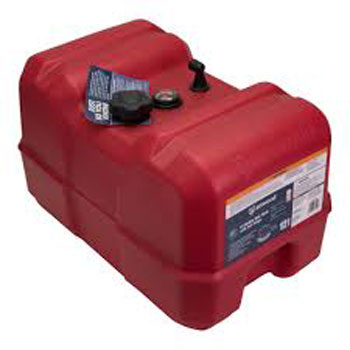 Attwood Epa Certified Low-Profile Portable Fuel Tank