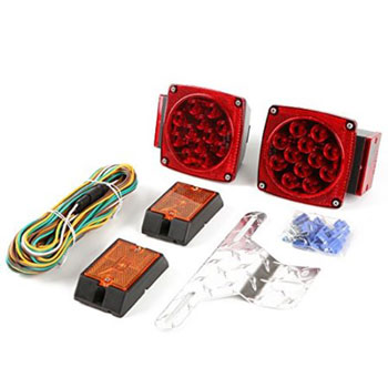 CZC AUTO  LED Submersible Trailer Tail Light Kit
