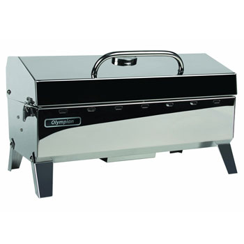 Camco Olympian 4500 Stainless Steel Portable Gas Grill