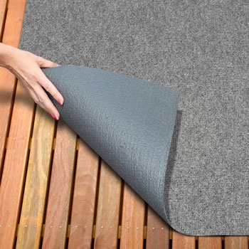 Indoor/Outdoor Carpet with Rubber Marine Backing