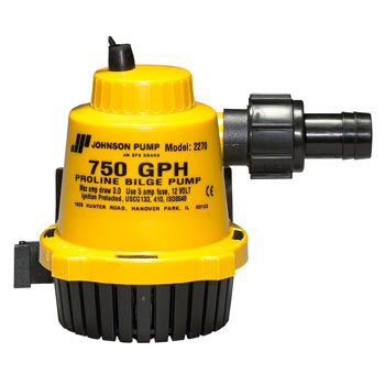 Johnson Pumps of America Marine Pro-Line Bilge Pump