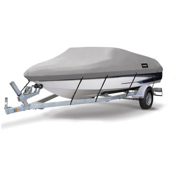 MSC Heavy Duty 600D Marine Grade Polyester Canvas Boat Cover
