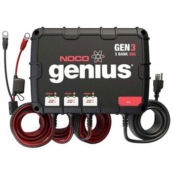 NOCO Genius GEN3 Waterproof Smart On-Board Battery Charger