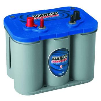 Optima 8016 Bluetop Starting And Deep Cycle Marine Battery