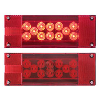 Optronics Red LED Combination Tail Light Kit