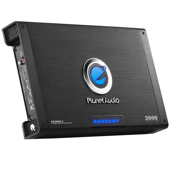 Planet Audio AC2000.2 Anarchy with Remote Subwoofer Control