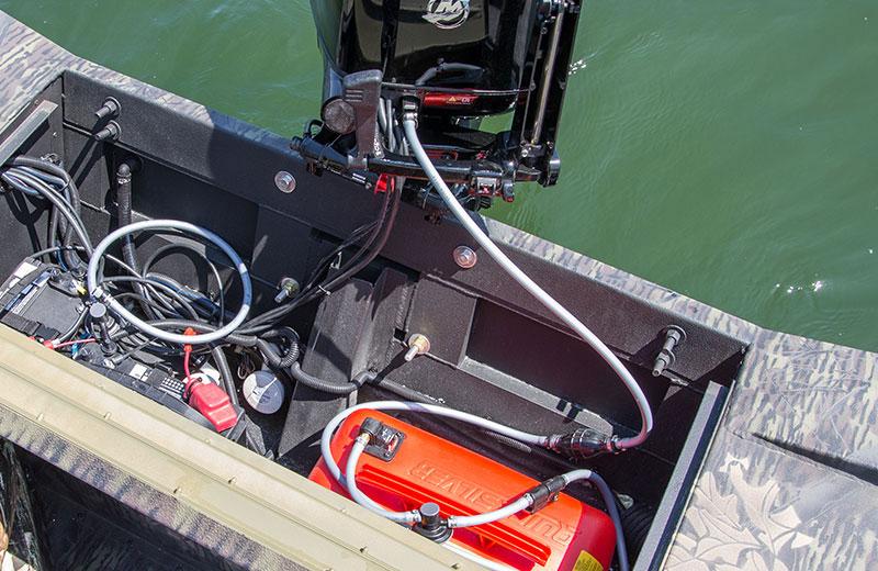 Portable Marine Fuel Tank For Small Boats Installatıon