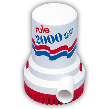 Rule Non-Automatic Bilge Pump