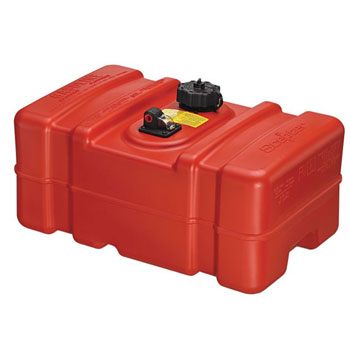 Scepter Rectangular Fuel Tank - Low Profile