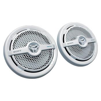 Sony XSMP1611 Dual Cone Marine Speakers