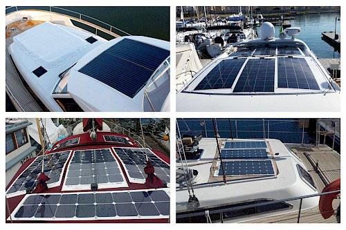 Types of Marine Solar Panels