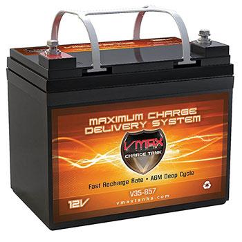 VMaxtanks 857 Marine Deep Cycle Battery