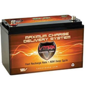 Vmaxtanks Solar Deep Cycle Rechargeable Battery