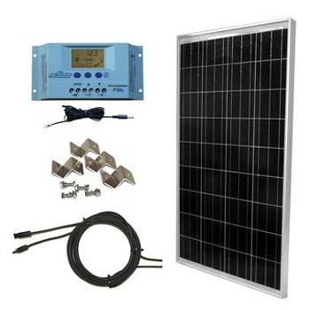 WindyNation Solar Panel Kit