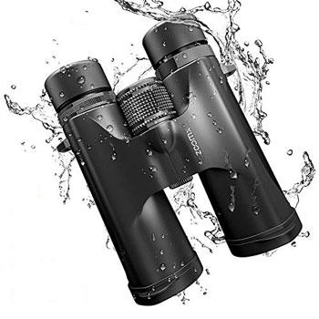 ZoomX 10x42 Waterproof Lightweight Compact Binoculars