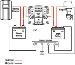marine battery charger diagram