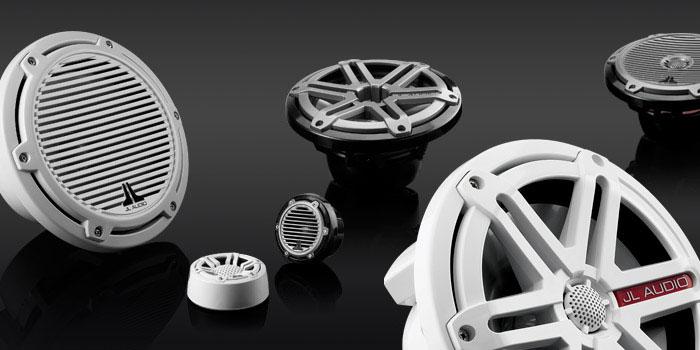 Types of marine speakers