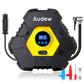 Audew Upgraded Portable Air Compressor Tire Inflator