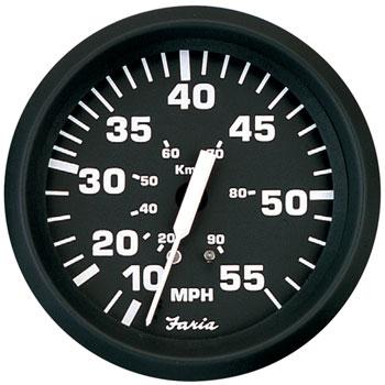 Fabia Beede Euro Speedometer 55mph BLK