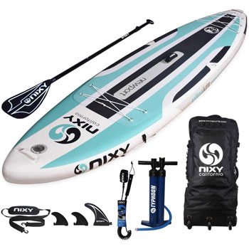 NIXY Newport All Around Inflatable Stand Up Paddleboard
