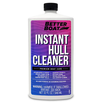 Better Boat Hull Cleaner for Fiberglass and Painted Boats