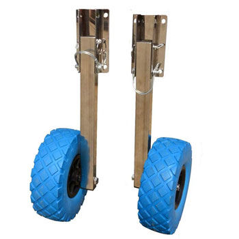 NICECHOOSE Boat Launching Wheels