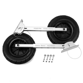 Seamax Deluxe Boat Launching Wheels System