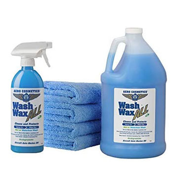 Waterless Wash Wax Kit by Aero Cosmetics