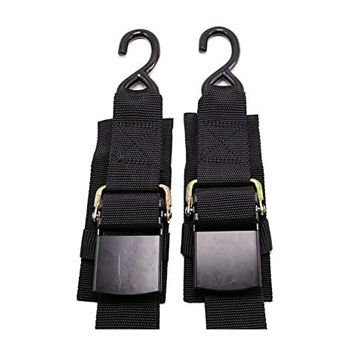 Meili 2 Piece Boat Winch Strap Adjustable Boat Tie Down Straps